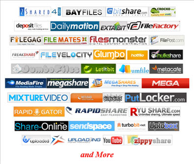 FREE Premium Download from Various Filehosts