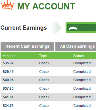easy earnings with inboxdollars