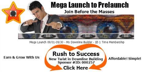 Mega Prelaunch to Prelaunch...Join Before Massess!